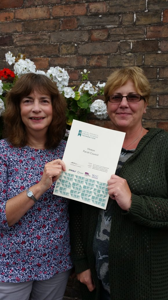 Hinton PC Foundation Local Council Award Scheme